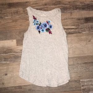 American Eagle Floral Soft and Sexy Tank